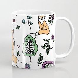 Woodland Fox Coffee Mug