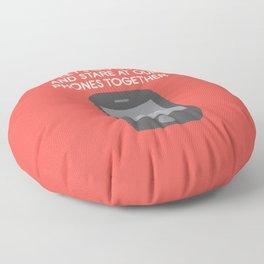 Emojionally Available Floor Pillow