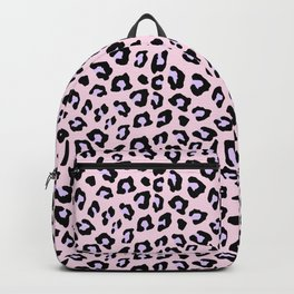 Leopard Print - Lavender Blush Backpack