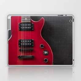 Red Guitar Laptop & iPad Skin