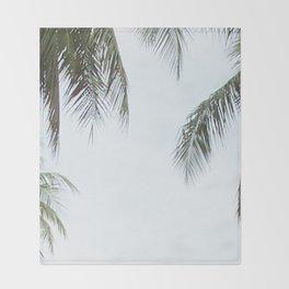 Palm prints Throw Blanket