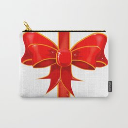 Pretty Ribbon Bow Carry-All Pouch