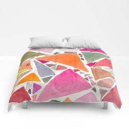pink 6 de pique - SIX of spades Comforters