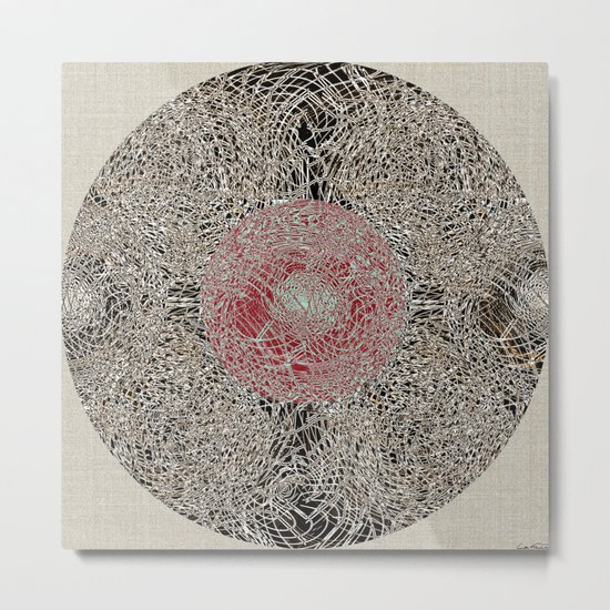 - En Ligne de Mire (Japanese Baby) - Metal Print
