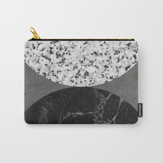 Marble, Granite, Concrete Abstract Carry-All Pouch