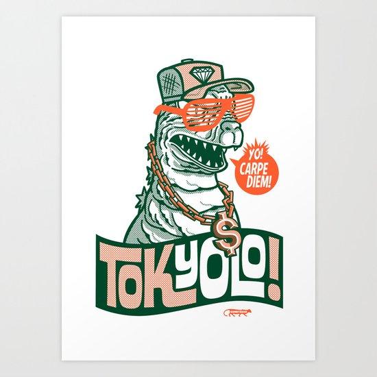 Tokyolo ($imple variant) Art Print