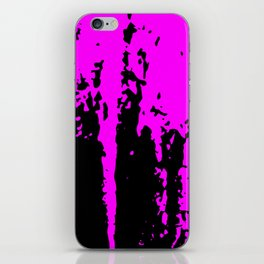 Scratched Paint iPhone Skin
