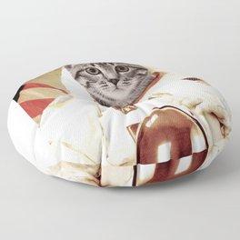 pusyastronout Floor Pillow