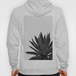 Agave Cactus Black & White Hoody