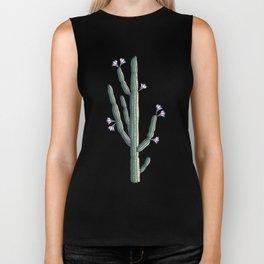 Beautiful cacti bloom Biker Tank