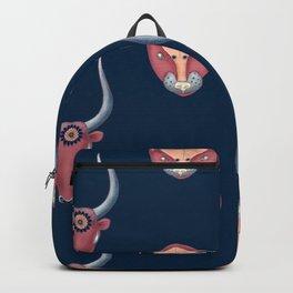 Mycenaean Bull & Lion Backpack
