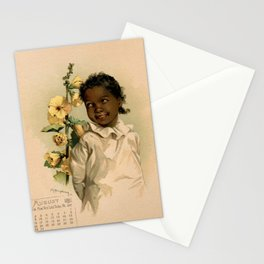 African Girl Maud Humphrey Stationery Cards