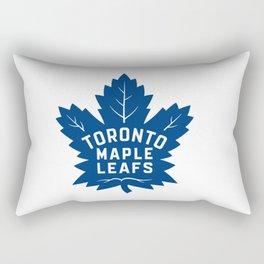 Toronto Maple Leaf Logo Rectangular Pillow