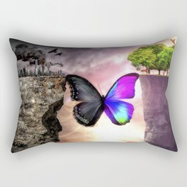 Transformation Rectangular Pillow