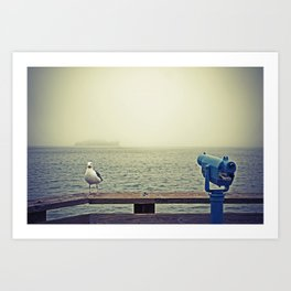 Pier 39, San Francisco, CA Art Print