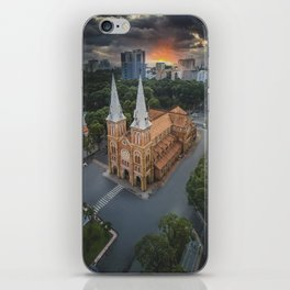 Notre-Dame Cathedral Basilica of Saigon iPhone Skin