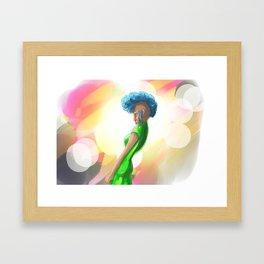 In the spotlight Framed Art Print