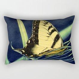Yellow Tiger Swallowtail Butterfly A125 Rectangular Pillow