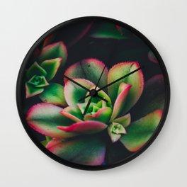 The Succulent Garden 3 Wall Clock