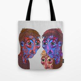 Prism Triplets Tote Bag