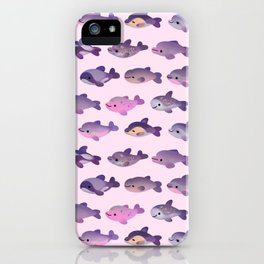 Dolphin Day iPhone Case