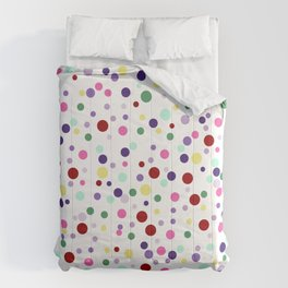 Candy Pop - white Comforters