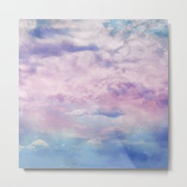 Cloud Trippin' Metal Print