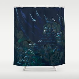 """""""Conquest of the Useless"""" by Werner Herzog Print (v. 6) Shower Curtain"""