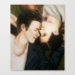 Klaine The Fault in Our Stars Canvas Print