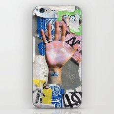 NYC Background 1 iPhone & iPod Skin