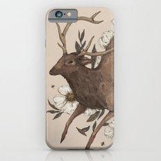 Floral Elk iPhone 6 Slim Case