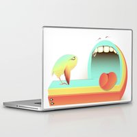 fear Laptop & iPad Skins featuring Fear by Laima St
