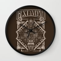 verse Wall Clocks featuring Best in the 'Verse by Buzatron