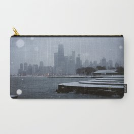 Chicago in the Snow Carry-All Pouch
