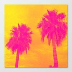 The Palms Canvas Print