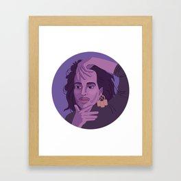 Queer Portrait - Willi Ninja Framed Art Print