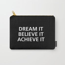 Motivational Carry-All Pouch
