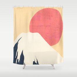 Dreams of Fuji Shower Curtain