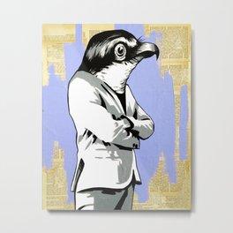 Bird Man Metal Print