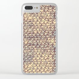 cats 497 Clear iPhone Case