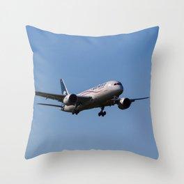 Aero Mexico Boeing 787 Throw Pillow