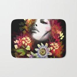 Passion Flowers Bath Mat