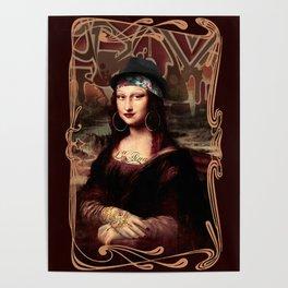Chicana Mona Lisa Poster