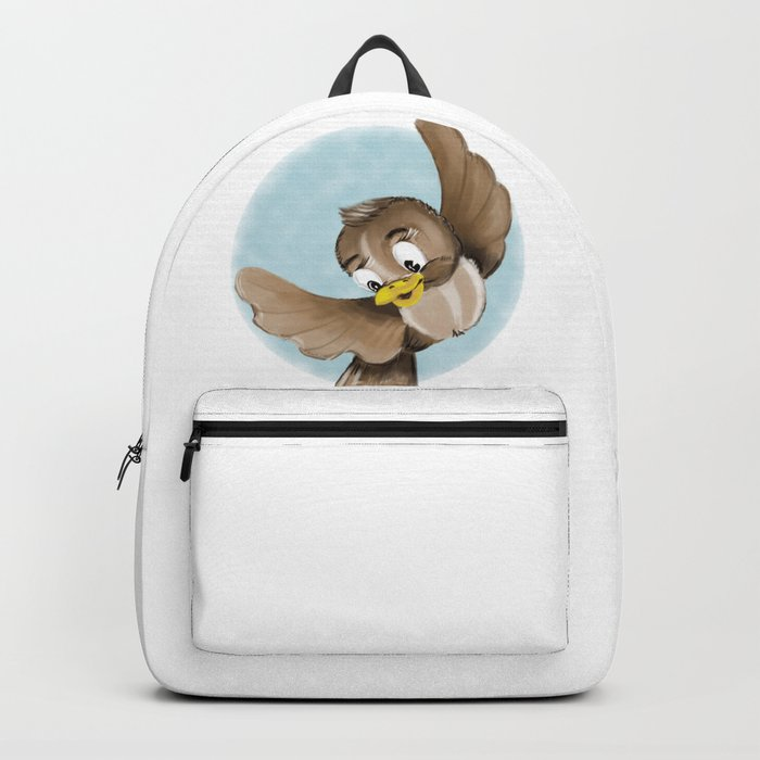 Smiling Bird Backpack