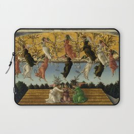 "Sandro Botticelli ""The Mystical Nativity"" Laptop Sleeve"