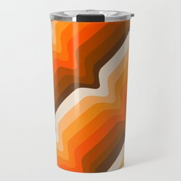 Golden Wave Travel Mug