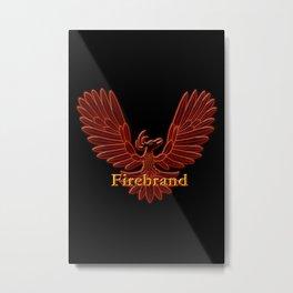 Ebaven Firebird Metal Print