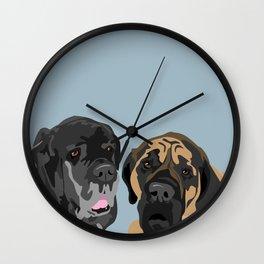 Capo and Gusto Wall Clock