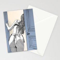 asc 690 - Le service en chambre (You rang?) Stationery Cards