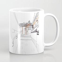 Bukchon in Seoul Coffee Mug